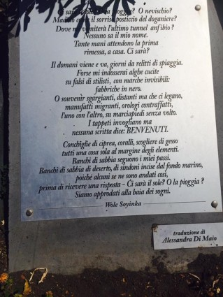 Plambeck, Soyinka poem